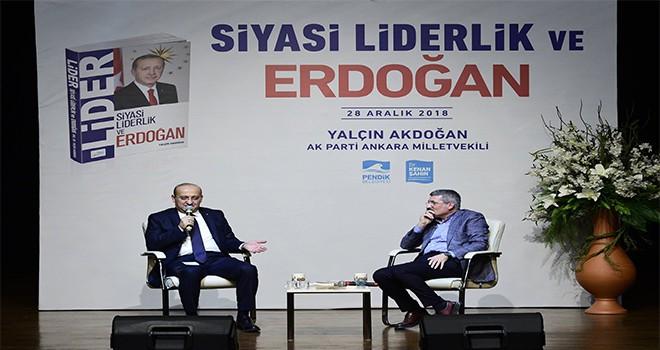 Yalçın Akdoğan: 'akm Muhteşem Bir Merkeze Dönüşmüş'