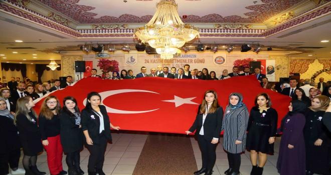 BAĞCILAR'DA ÖĞRETMENLER GÜNÜ ÖZEL BİR PROGRAMLA KUTLANDI