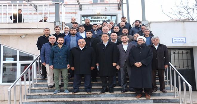 Başkan Hasan Can, Sabah Namazı Buluşmalarında Hekimbaşı Merkez Camii Cemaatiyle Bir Araya Geldi