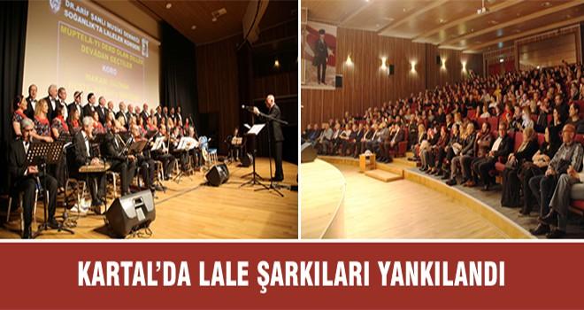 Kartal'da Lale Şarkıları Yankılandı