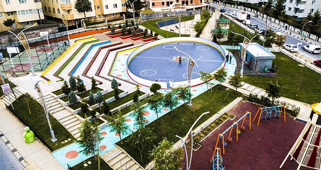 Ertuğrul Gazi Parkı Yenilendi