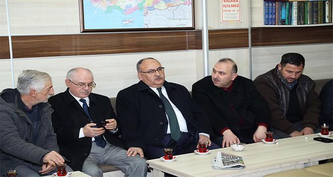 Başkan Hasan Can Çakmak Camii Cemaati ve Bölge Esnafıyla Bir Araya Geldi