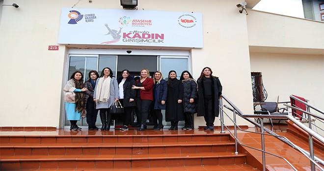 Kazakistanlı İş Kadınları Ataşehir'de
