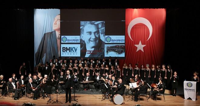 Bakırköy'de 10 Kasım'da Atamız Sevdiği Şarkıları Konseri