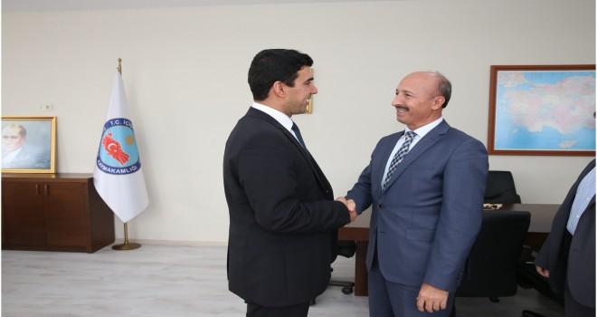 Başkan Altunay'dan Yeni Kaymakama Ziyaret