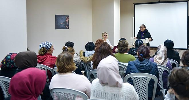 """Maltepe'de """"kadına şiddete hayır"""" dediler"""