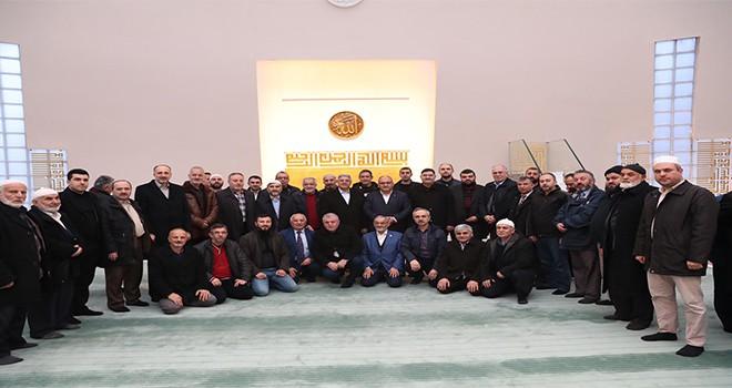 Başkan Hasan Can Sabah Namazı Buluşmalarında Yeşilvadi Konutları Kiptaş Camii Cemaatiyle Bir Araya Geldi