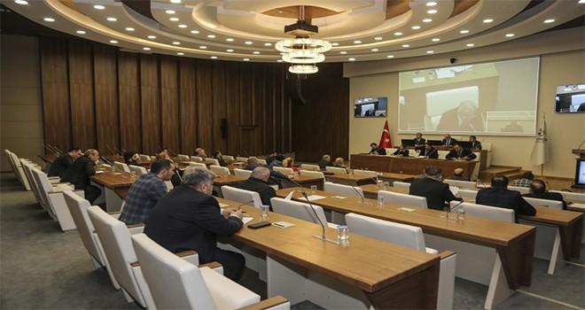 Belediye Meclisi'nde Ocak Ayı Çalışmaları Sürüyor
