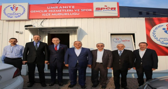 Başkan Hasan Can'dan Ümraniye Gençlik Hizmetleri Ve Spor İlçe Müdürlüğüne Ziyaret