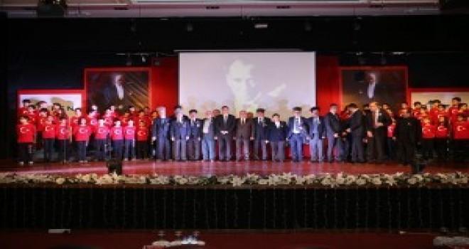 Başkan Hasan Can, 10 Kasım Atatürk'ü Anma Programına Katıldı