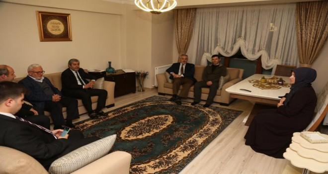 Başkan Remzi Aydın, 15 Temmuz şehidinin ailesini ziyaret etti