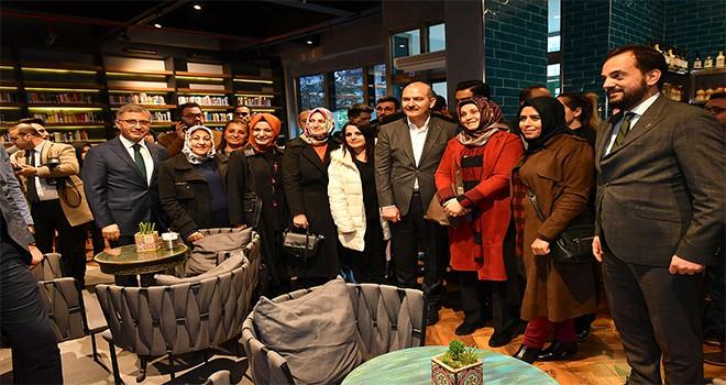 İçişleri Bakanı Süleyman Soylu'dan Nevmekan Sahil Ziyareti