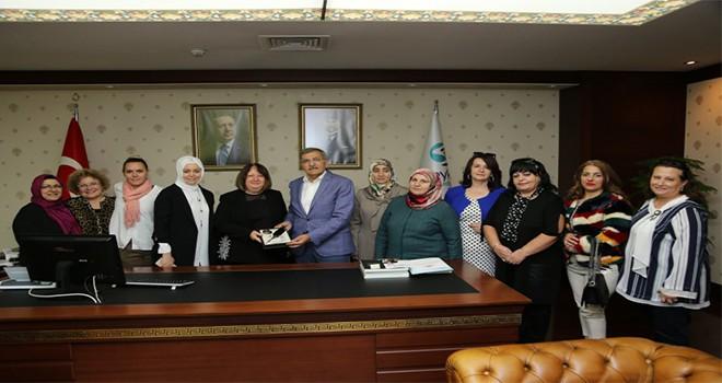 Başkan Murat Aydın Tebrikleri Kabul Etti