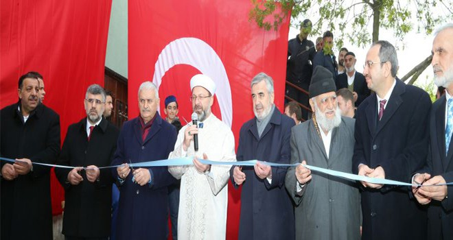 Meclis Eski Başkanı Binali Yıldırım Sultanbeyli'de Cami Açılışına Katıldı