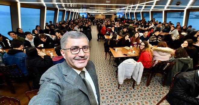 Şehit Okan Altıparmak Anadolu Lisesi Valide Sultan Gemisi'nde