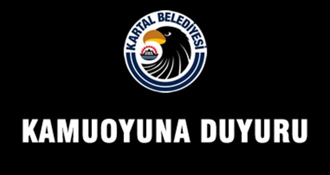 Kamuoyuna Duyuru!
