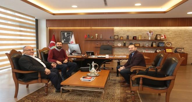 Siyaset Bilimi Öğretim Üyelerinden Başkan Hasan Can'a Ziyaret