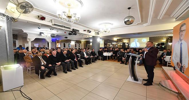 Mahalle Buluşmaları Başkan Türkmen'in Katılımlarıyla Devam Ediyor