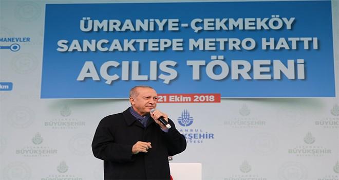 Üsküdar Çekmeköy Metrosu Açıldı