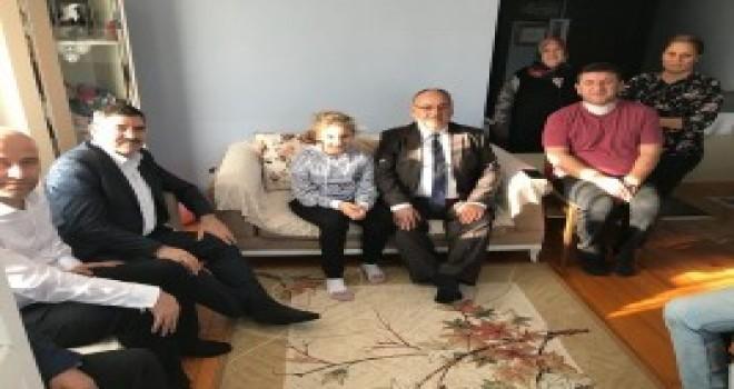 Başkan Hasan Can Geçmiş Olsun Ziyaretlerine Devam Ediyor