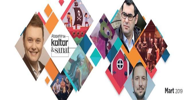 Ataşehir'de Mart Ayı Sanatla Dopdolu