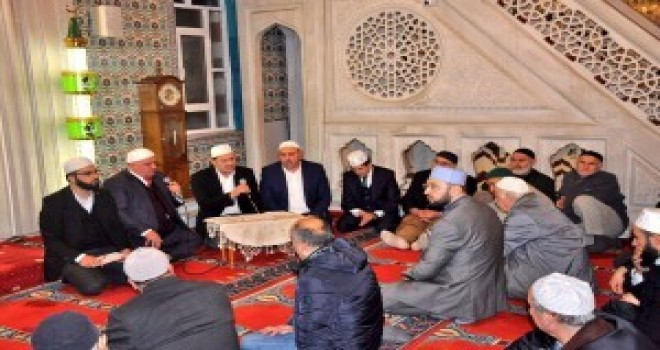Ümraniye'de Yatsı Namazından Sonra Kur'an Ziyafeti ve Dua Programı Yapıldı