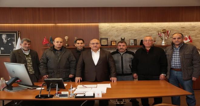 Başkan Hasan Can, Parseller Mahalle Sakinlerini Ağırladı
