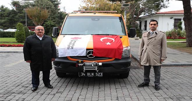 Ümraniye Belediyesi'nden Arama Kurtarma Aracı!