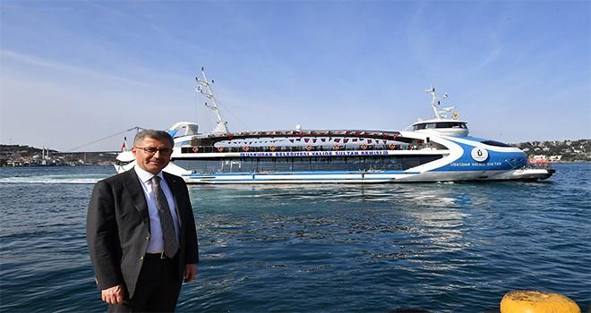 Mithatpaşa Mesleki Ve Teknik Anadolu Lisesi Valide Sultan Gemisi'nde