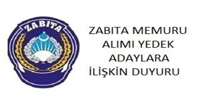 Ümraniye Belediyesi Zabıta Memuru Alımı Yedek Adaylara İlişkin Liste Açıklandı