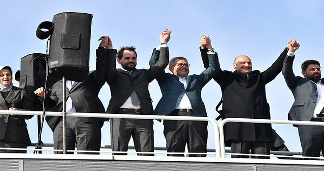 İçişleri Bakanı Süleyman Soylu Üsküdar'da