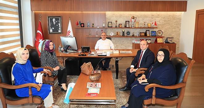 Kadıköy Ahmet Sani Gezici Kız Anadolu İmam Hatip Lisesi'nden Ziyaret
