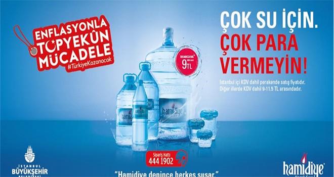 Hamidiye'den Su Fiyatlarını Dengeleyecek Kampanya Damacana 9 TL
