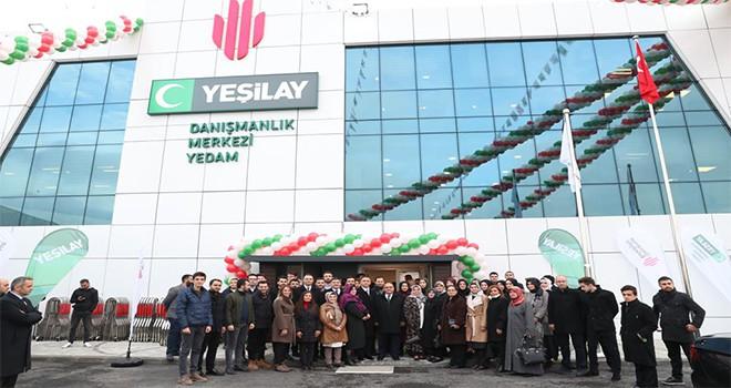 Yeşilay Danışmanlık Merkezi (YEDAM) Cumhurbaşkanımız Recep Tayyip Erdoğan'ın Eşi Sayın Emine Erdoğan'ın Teşrifleriyle Açıldı