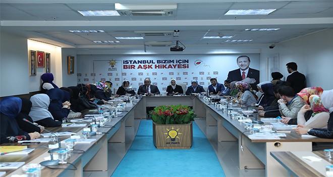 Başkan Hasan Can ve AK Parti İstanbul Milletvekili Ravza Kavakçı Kan, AK Parti Ümraniye İlçe Kadın Kolları ve İlçe Gençlik Kolları Yönetimi İle Bir Araya Geldi