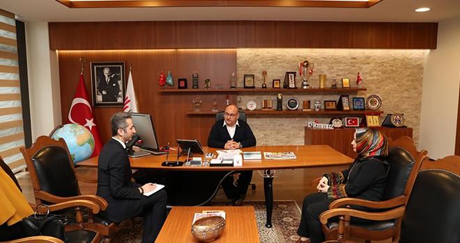 İŞKUR Ümraniye Şube Müdürü'nden Başkan Hasan Can'a Ziyaret