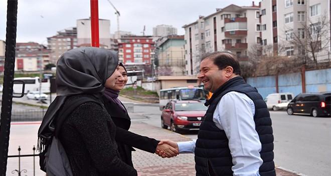 """Maltepelilerden Başkan Kılıç'a: """"Sayenizde gülümsüyoruz"""""""