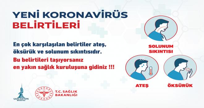"""Sancaktepe Belediyesi """"KORONAVİRÜSE"""" Karşı Topyekün Savaş Açtı"""