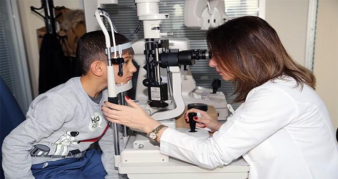 Ataşehir Belediyesi'nden İhtiyaç Sahiplerine Göz Muayenesi Ve Gözlük