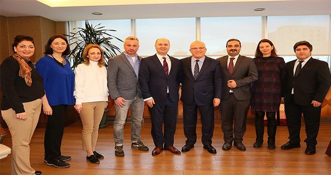 Romanya'dan Ataşehir Belediyesi'ne Ziyaret