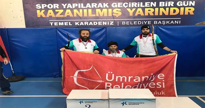 Ruz-ı Kasım Ok Bayramı Yarışmalarında Şampiyon Ümraniye!