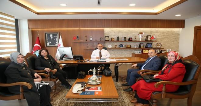 Mediha Tansel Ortaokul Müdürü Osman Çıtak'tan Başkan Hasan Can'a Ziyaret