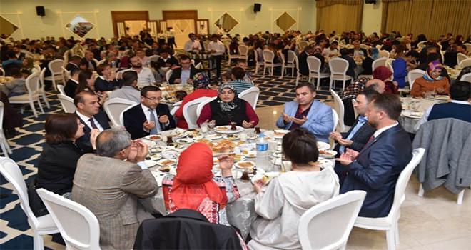 Şehit Aileleri, Gaziler ve Gazi Yakınları İftarda Buluştu