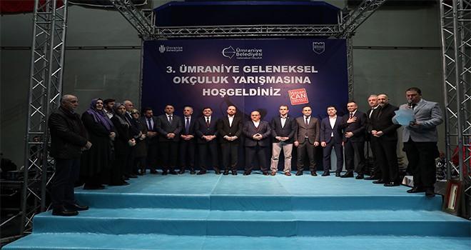 Ümraniye Belediyesi 3. Geleneksel Okçuluk Yarışması Ödül Töreni Gerçekleşti