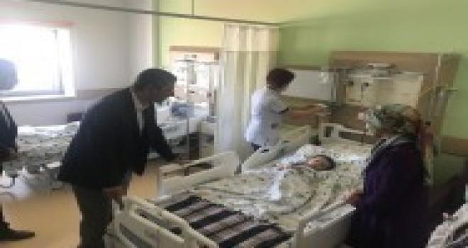Lösemili Çocuklar Haftası Münasebetiyle Ümraniye Devlet Hastanesi'ndeki Hastalar Ziyaret Edildi