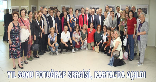 Yıl Sonu Fotoğraf Sergisi, Kartal'da Açıldı