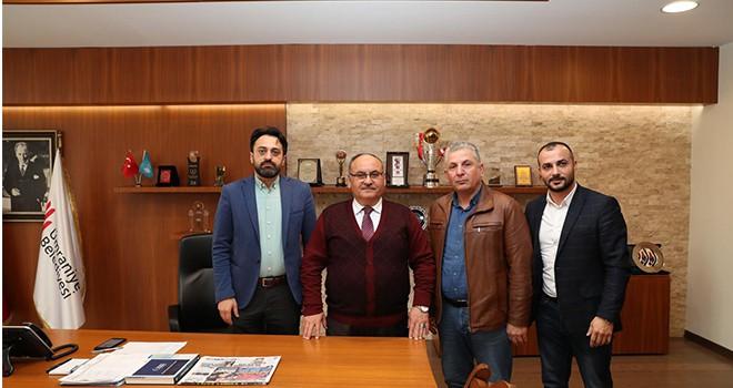 Giresun Şebinkarahisar Ahurcuk Derneği'nden Başkan Hasan Can'a Ziyaret