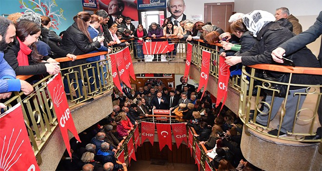 Başkan Ali Kılıç'tan CHP ve İyi Parti'ye teşekkür ziyareti