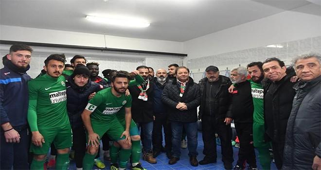 Başkan Ali Kılıç'tan Maltepespor'a destek