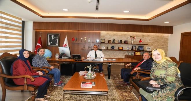Toki Mevlana İlkokul'undan Başkan Hasan Can'a Ziyaret